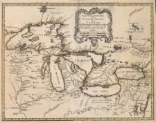 Partie Occidentale de la Nouvelle France ou du Canada Par Mr. Bellin Ingenieur du Roy et de la Marine Pour seguir a l'intelligence des Affaires et de la l'Etat present en Amerique, communiquee au Public par les Heritiers de Homan, en l'an 1755