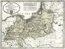 Das Königreiche Preussen mit den freien Städten Danzig u. Thorn