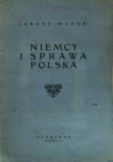 Niemcy i sprawa polska