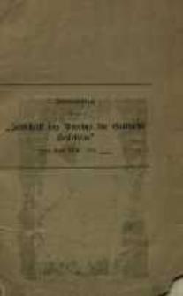 Breslau im Streite um die preussische Verfassungs frage 1841
