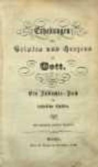 Erhebungen des Geistes und Herzens zu Gott : bein Andachts-Buch für katholische Christen.