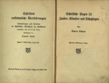 Schlesiens volkstümliche Überlieferungen : Sammlungen und Studien der Schlesischen Gesellschaft für Volkstunde : Bd.5. Schlesische Sagen III Zauber=, Munder= und Schatzsagen