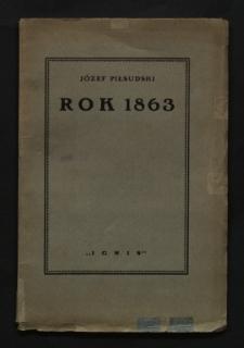 Rok 1863 : odczyt wygłoszony d. 20. I 1924 w Warszawie