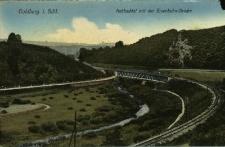 Złotoryja : Dolina Kaczawy z mostem kolejowym