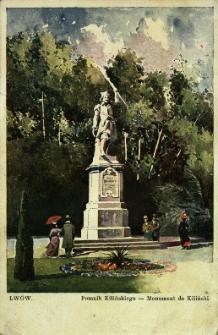 Lwów : pomnik Kilińskiego