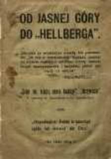 """Od Jasnej Góry do """"Hellberga"""""""
