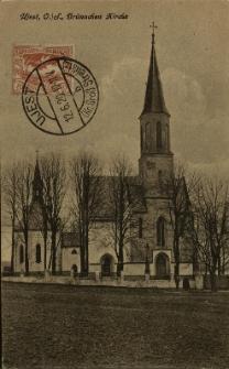 Ujazd : kościół pątniczy pw. Nawiedzenia NMP