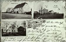 Lewin Brzeski : dom strzelecki, gospoda Reichelta, willa Schmitza oraz fabryka maszyn