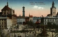 Lwów : plac Św. Ducha
