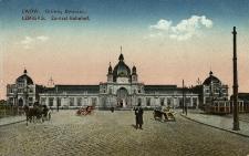 Lwów : dworzec główny