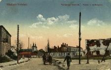 Włodzimierz Wołyński : spalona część miasta