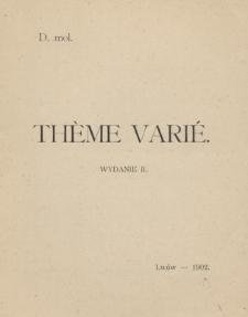 Theme varié