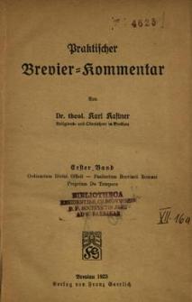 Praktischer Brevier = Kommentar. 1. Bd.
