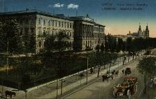 Lwów : ulica Leona Sapiehy