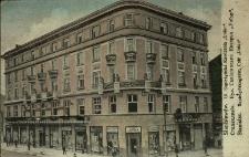 """Stanisławów : ulica Sapieżyńska, kawiarnia """"Union"""""""