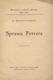 Sprawa Ferrera