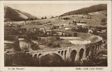 Worochta : ogólny widok z góry Kiczerki