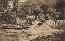 Kosów : wodospad w Horodzie