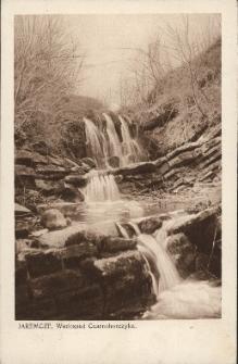Jaremcze : wodospad Czarnohorczyka