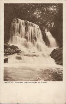 Jaremcze : wodospad Czarnohorczyka po deszczu