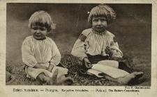 Ukraina : dzieci huculskie