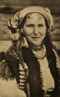 Ukraina : piękna Hucułka