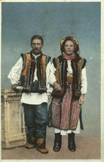 Ukraina : para Hucułów