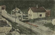 Jamna : most obok tunelu na Prucie
