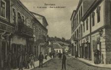 Brzeżany : ulica Kościuszki