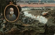 Lwów : austro-węgierska piechota odpiera rosyjską kawalerię pod Lwowem