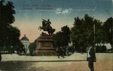 Lwów : Pomnik Sobieskiego z leporello