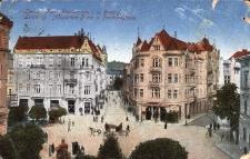 Lwów : Plac Akademicki i ulica Fredry