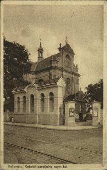 Kołomyja : kościół parafialny rzymsko-katolicki