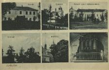 Dunajów : szkoła, kościół, zamek przez zniszczeniem, organy