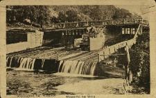 Wilno : wodospad na Wilence