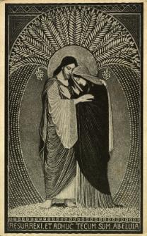 Święta religijne : Resurrexi. Et adhuc tecum sum.Alleluja