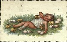 Święta religijne : pocztówka wielkanocna