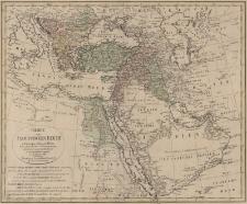 Charte von Osmanischen Reiche in Europa, Asia und Africa. Nach astronomischen Ortsbestimmungen ältern und neuenn Beschreibungen u. Reisenachrichten entworfen