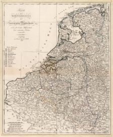Karte des Koenigsreichs der vereinigten Niederlande nach den besten Hülfsmitteln und sichersten Karten entworfen.
