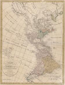 Charte von America nach astronomischen Bestimmungen, den neuesten Nachrichten und Charten entworfen von F. L. Güssefeld