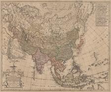 Charte von Asien nach den bewährten astronomischen Beobachtungen, den neuesten Reisen, und den vorzüglichsten Charten insonderheit aber der Geographie des Hrn. I.C.Gatterers von F.L.Güssefeld