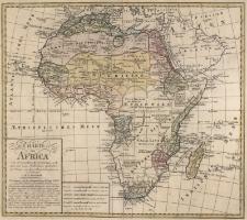 Charte von Africa nach astronomischen Beobachtungen, auch altern und neuen Nachrichten ingleichen den Charten von Sayer, Rennel, Arrowsmit u.a.m. neue entworfen