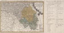 Ducatus Silesiae Tabula Altera Superiorem Silesiam exhibens ex mappa Hasiana majore desumta et excusa per Homannianos Heredes Norimb. A MDCCXXXXVI Cum Priv. Sac. Caes. Maj. Norimbergae