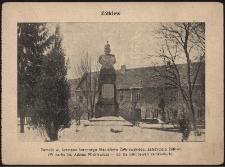 Żółkiew : pomnik w. hetmana koronnego Stanisława Żółkiewskiego