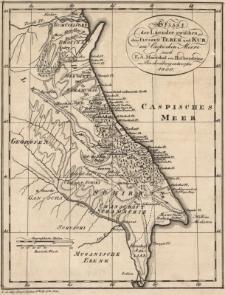 Skizze der Laender zwischen den Flüssen Terek und Kur am Caspischen Meere nach F.A. Marschal von Biebersteins Beschreibung entworfen 1800