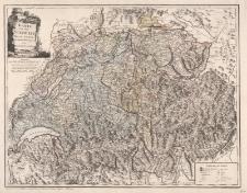 Karte von der Schweiz nach Faden. Neu verzeichnet herausgegeben von Franz Joh. Jos. von Reilly
