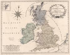 Karte von Grossbritannien und Ireland nach Kitchin, Dorret und Jefferys neu verzeichnet herausgegeben von Franz Joh. Jos. von Reilly