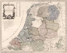 Karte von der Republik der Vereinigten Niederlande. Neu verzeichnet herausgegeben von Franz Joh. Jos. von Reilly