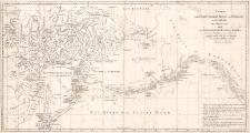 Charte des Nordöstlichen Theils Von Sibirien des Eismeers Des Ostoceans und der Nordwestlichen Küste von America mit der Bestimung der Fahrt der Schiffe, welche sich bei der Expedition des Capitains Billings befanden. Entworfen von Sarütschew.
