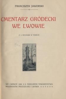 Cmentarz Gródecki we Lwowie